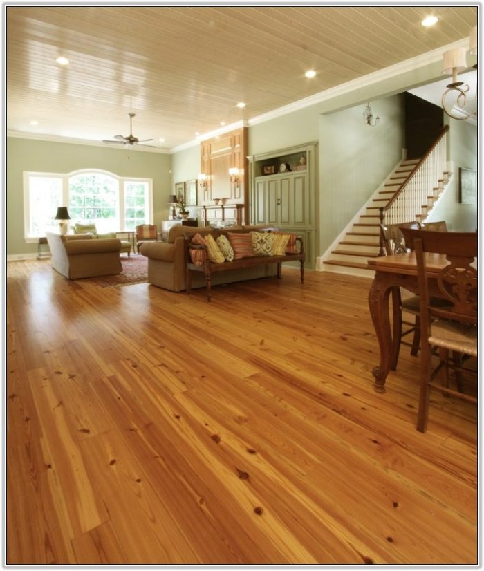 Yellow Pine Wide Plank Flooring