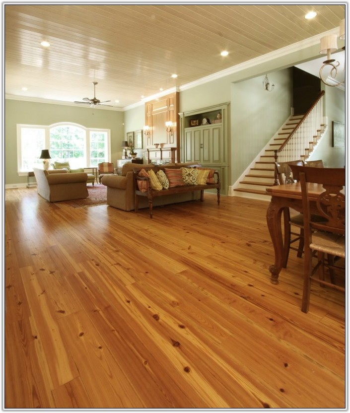 Yellow Pine Wide Plank Flooring