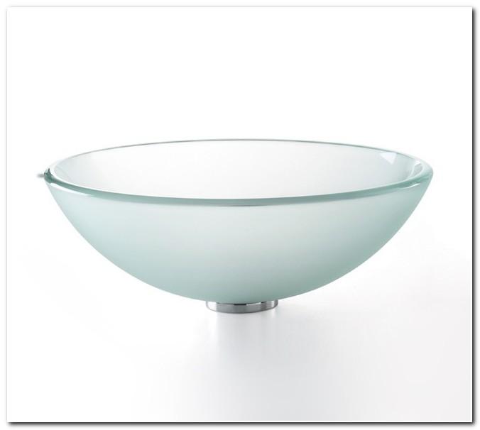 14 Inch Glass Vessel Sink