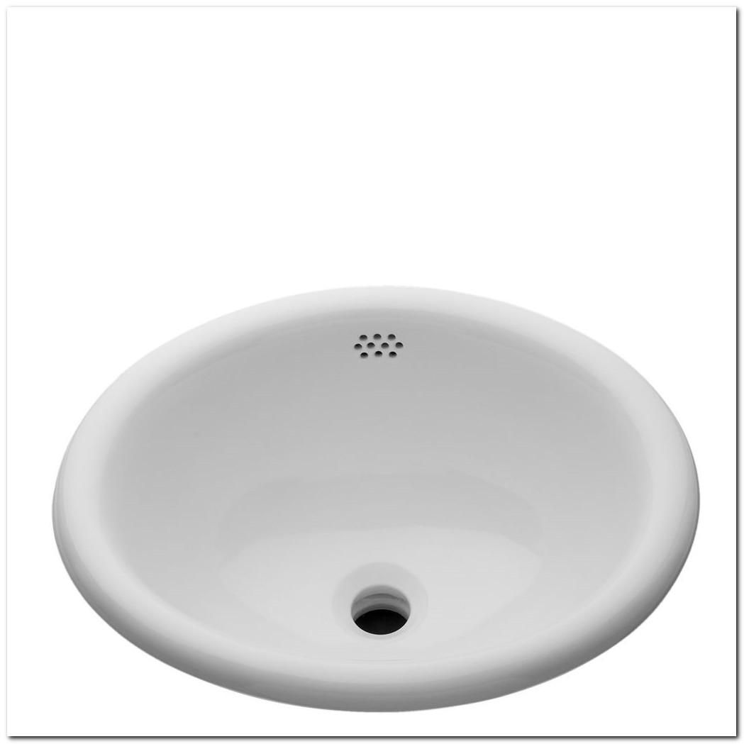 19 Oval Drop In Sink