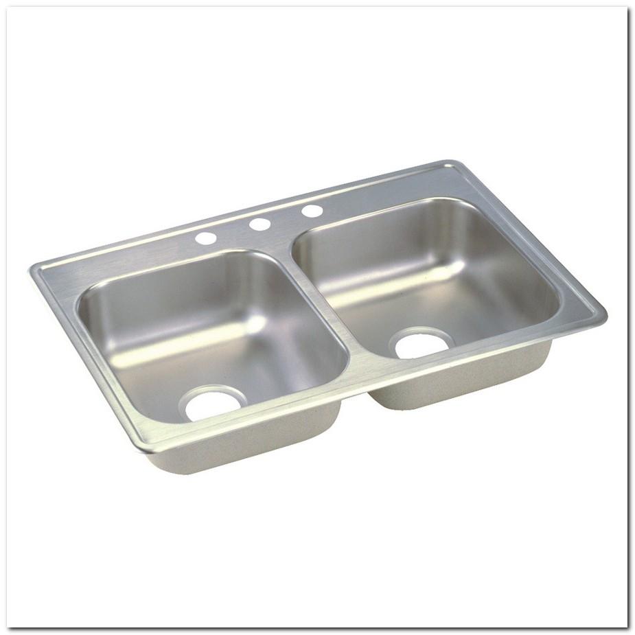 19 X 33 Drop In Kitchen Sink