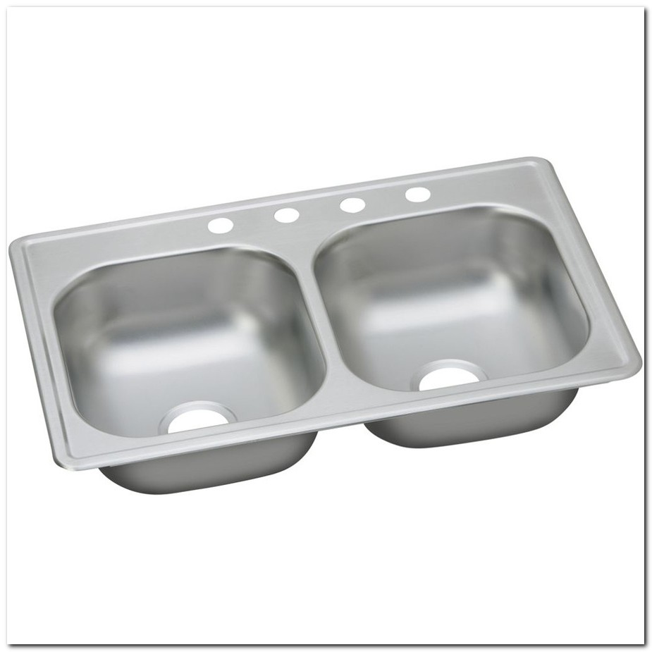 19 X 33 Stainless Steel Kitchen Sink