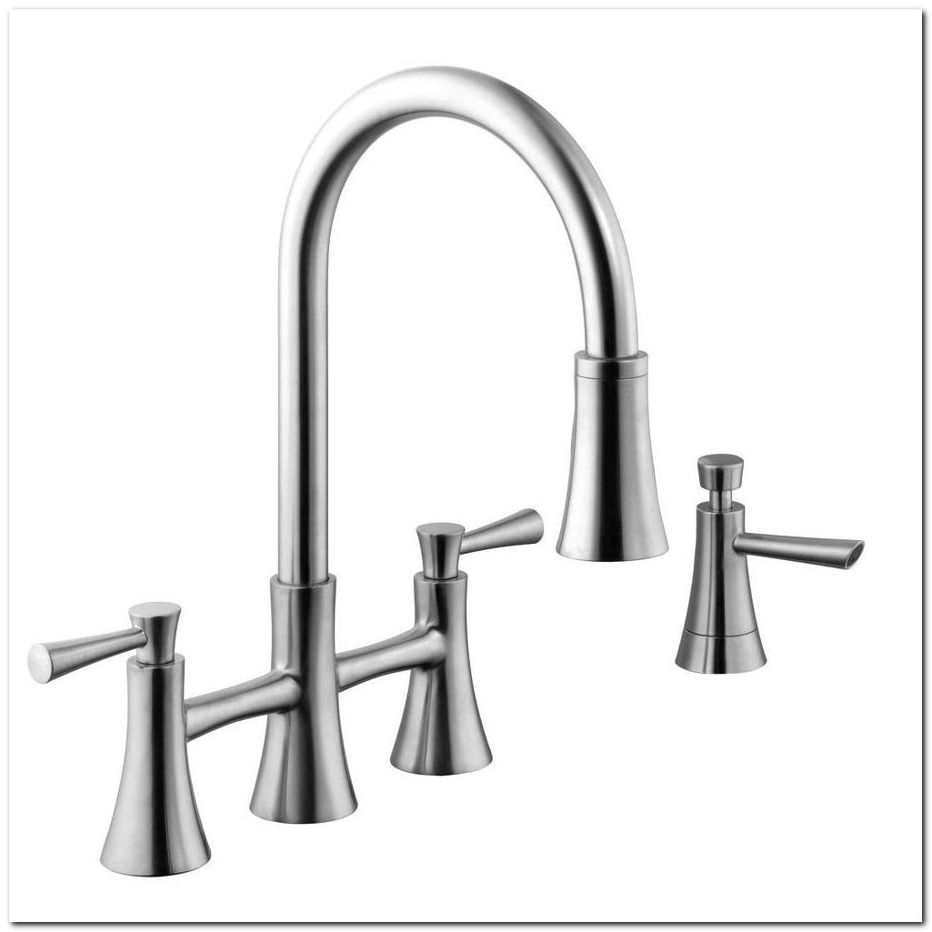 2 Handle Pull Down Kitchen Faucet