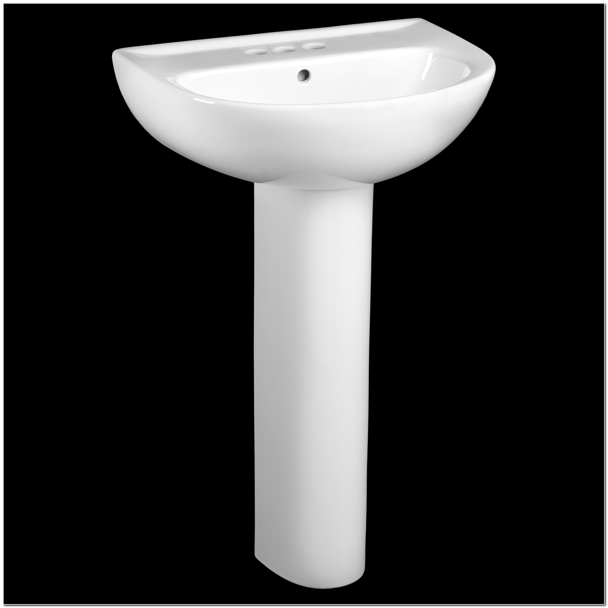 22 Inch Square Pedestal Sink