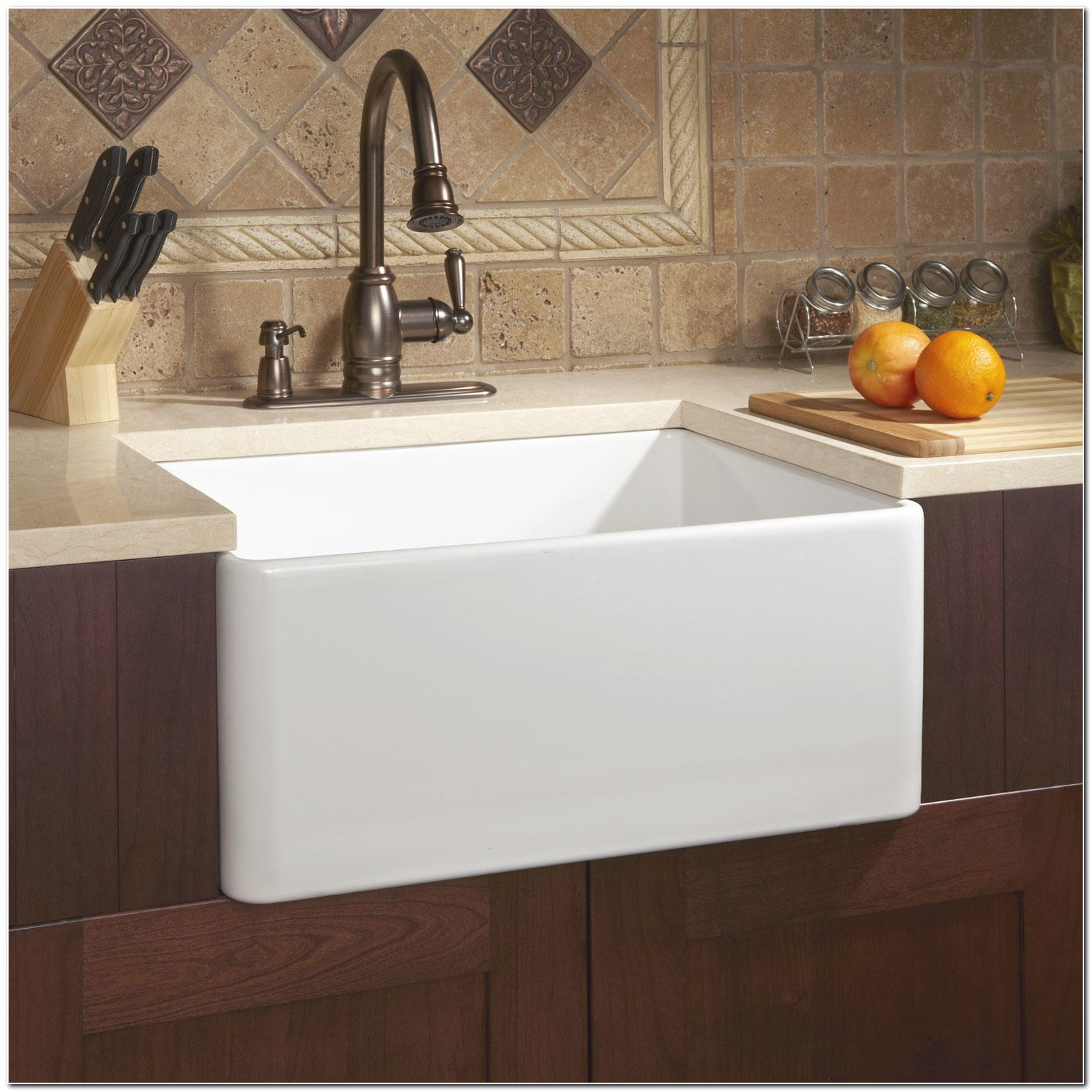 24 Inch Apron Front Sink