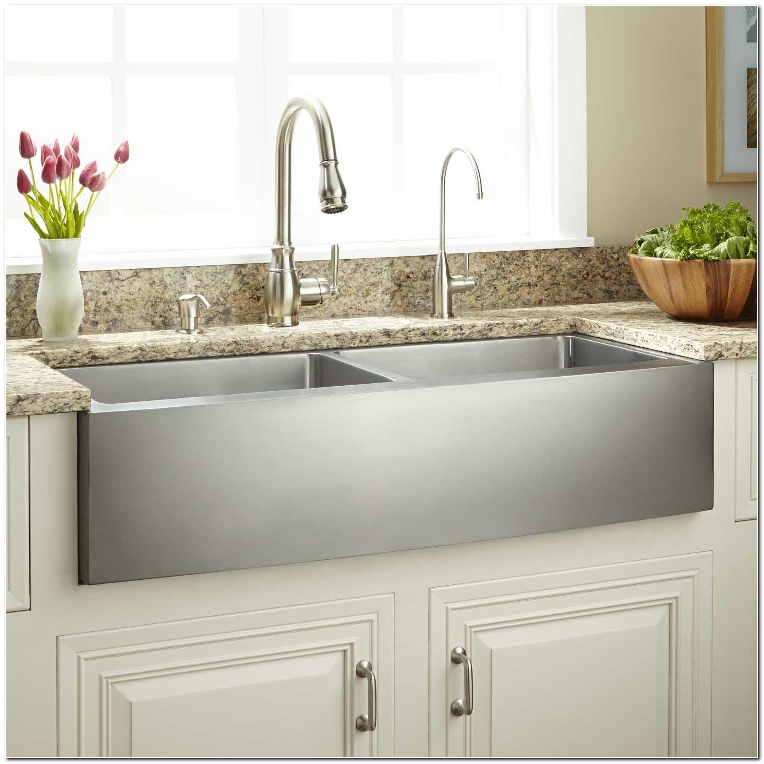 24 Stainless Apron Front Sink