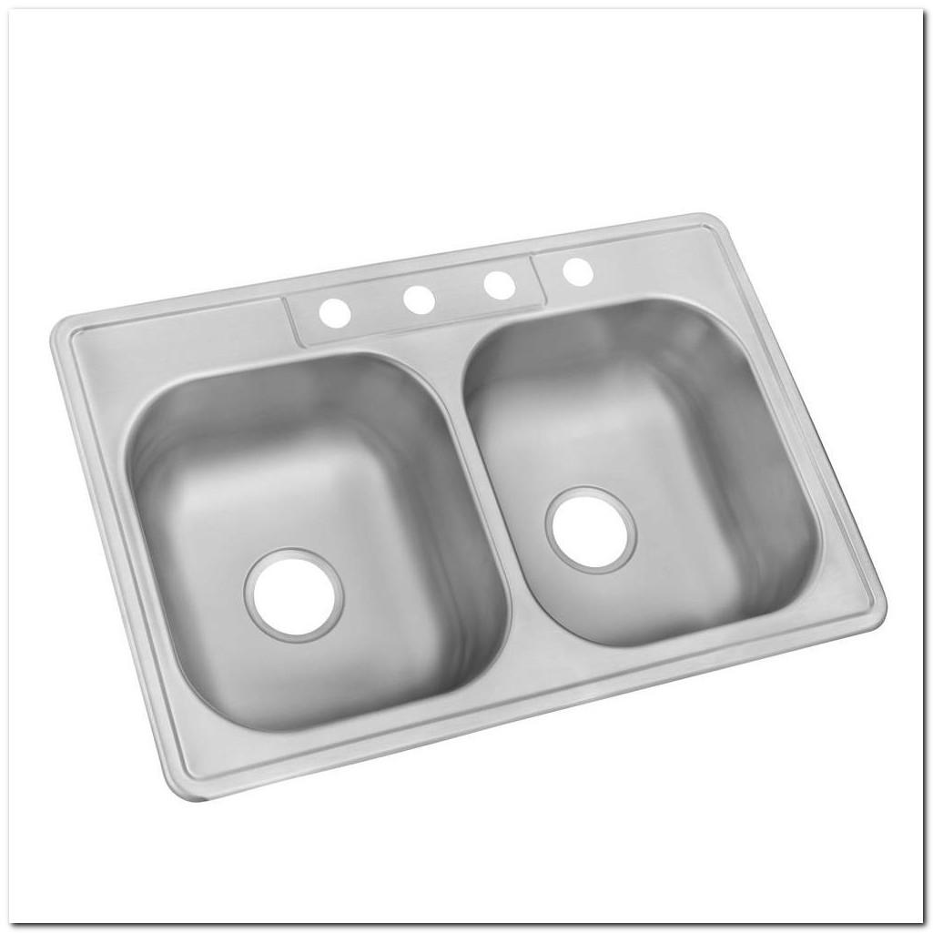 30 Drop In Stainless Steel Kitchen Sink