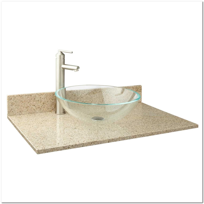 31 Granite Vanity Top For Vessel Sink