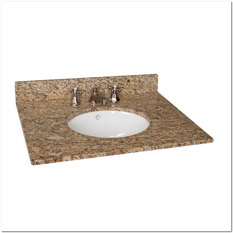 31 Granite Vanity Top With Undermount Sink