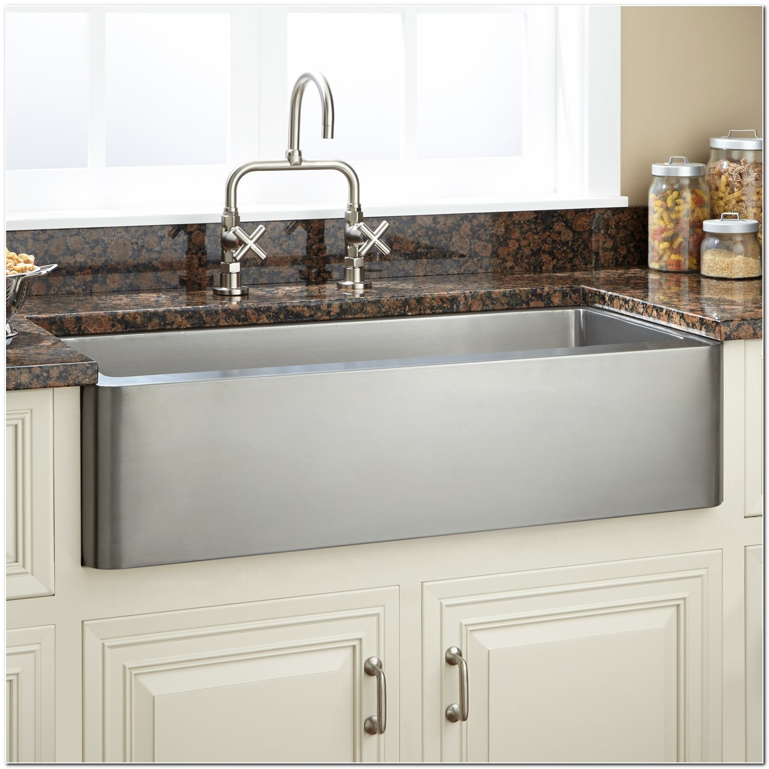 33 Apron Front Sink Stainless Steel