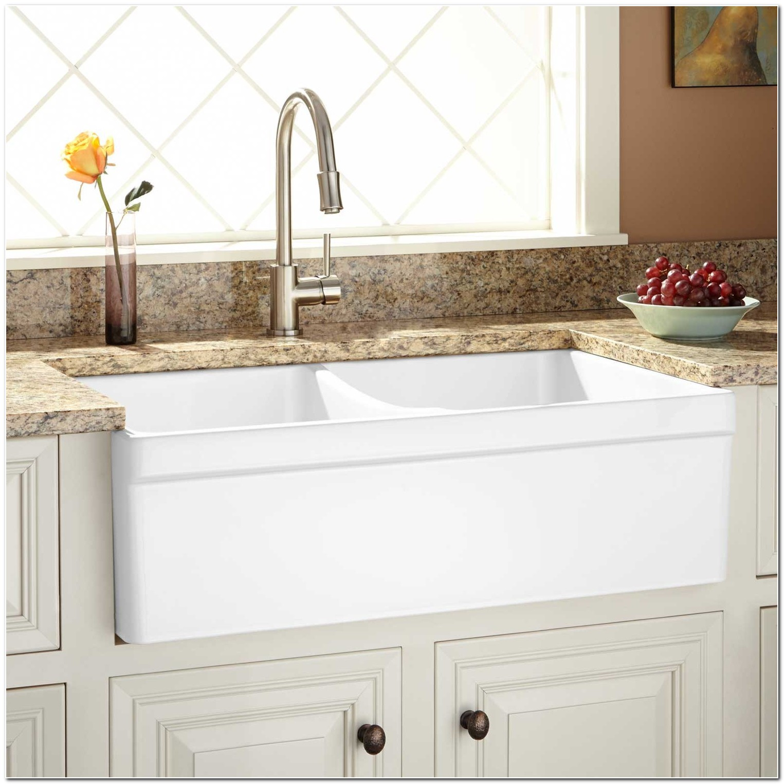 33 Fireclay Apron Front Sink