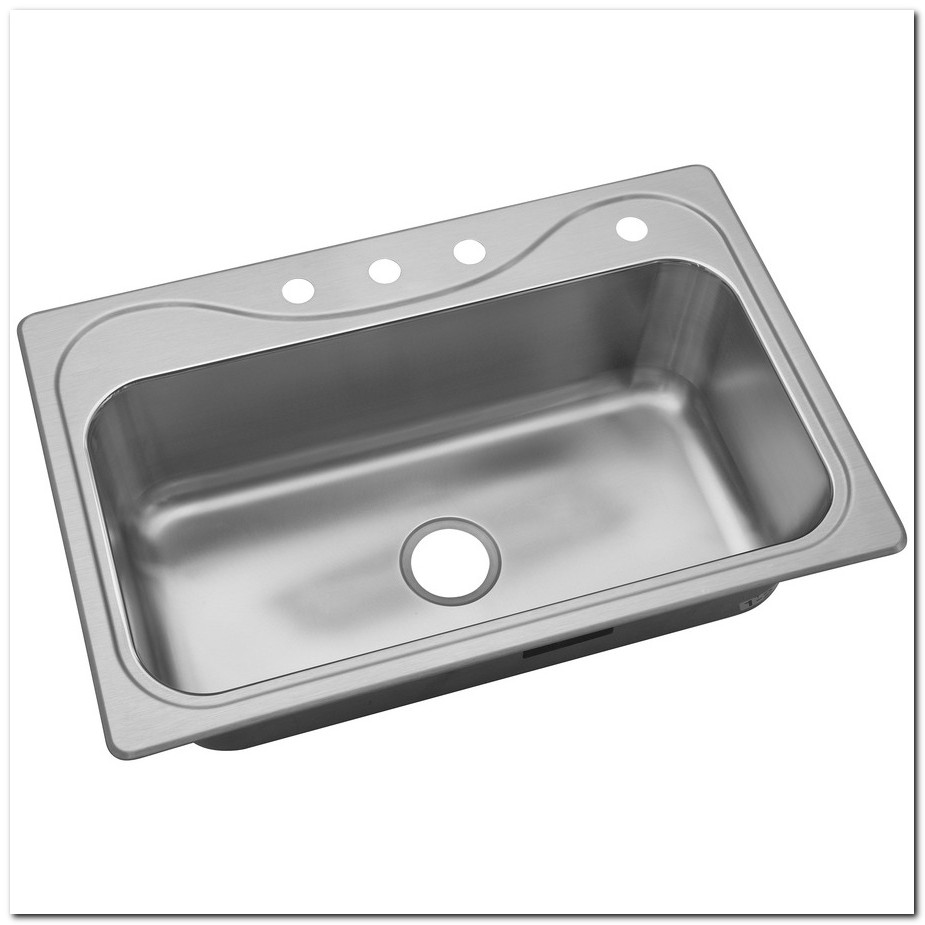 33 X 19 Kitchen Sink Stainless Steel