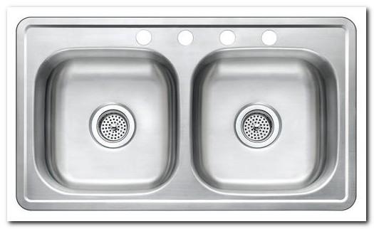 33 X 19 X 8 Kitchen Sink