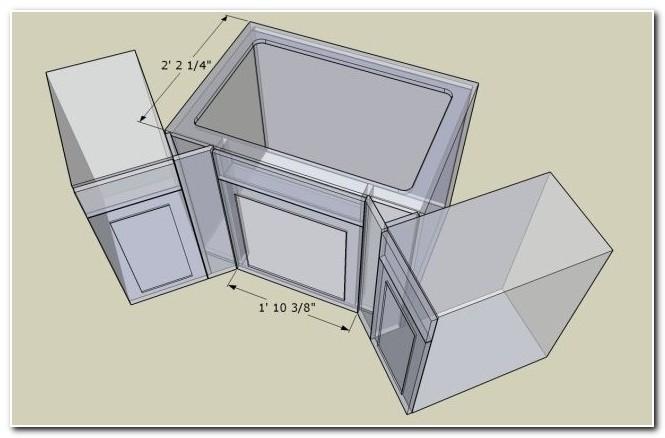 36 Corner Sink Base Cabinet