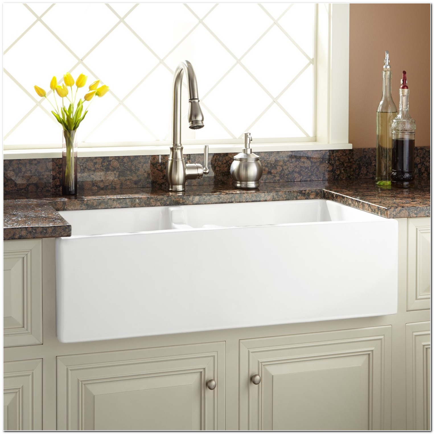 36 Fireclay Apron Front Sink