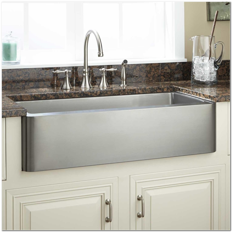 36 Hazelton Stainless Steel Apron Front Sink