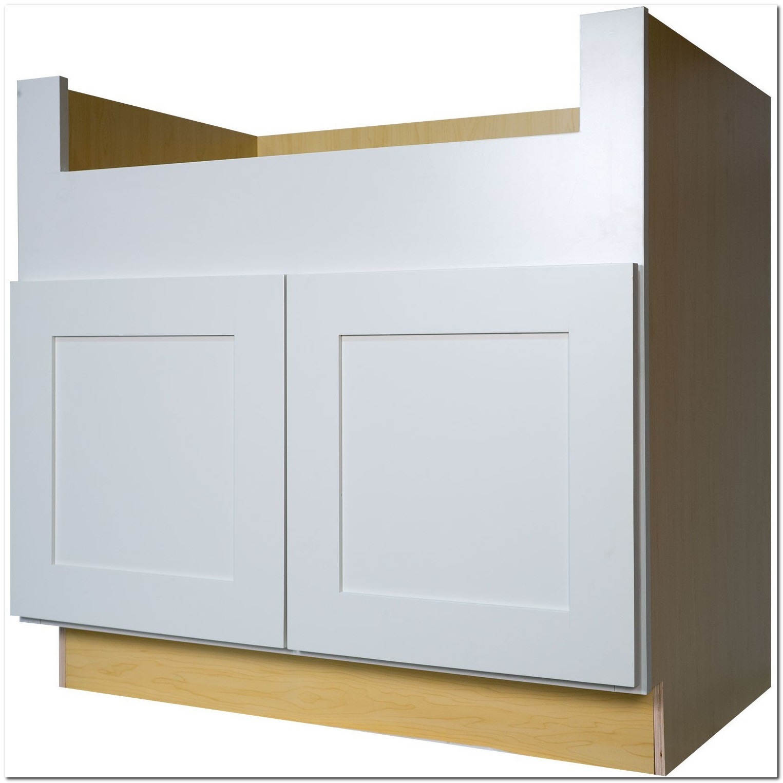 36 Sink Base Cabinet White