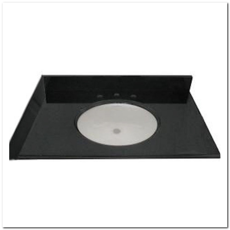 37 Granite Vanity Top With Undermount Sink