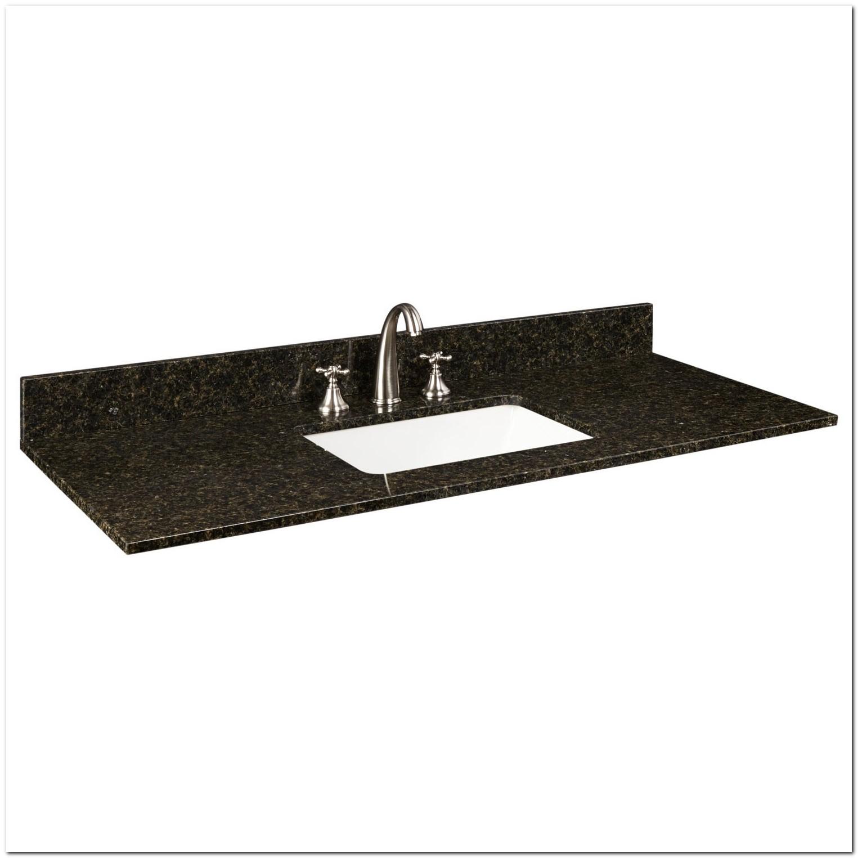 49 Granite Vanity Tops With Undermount Sink