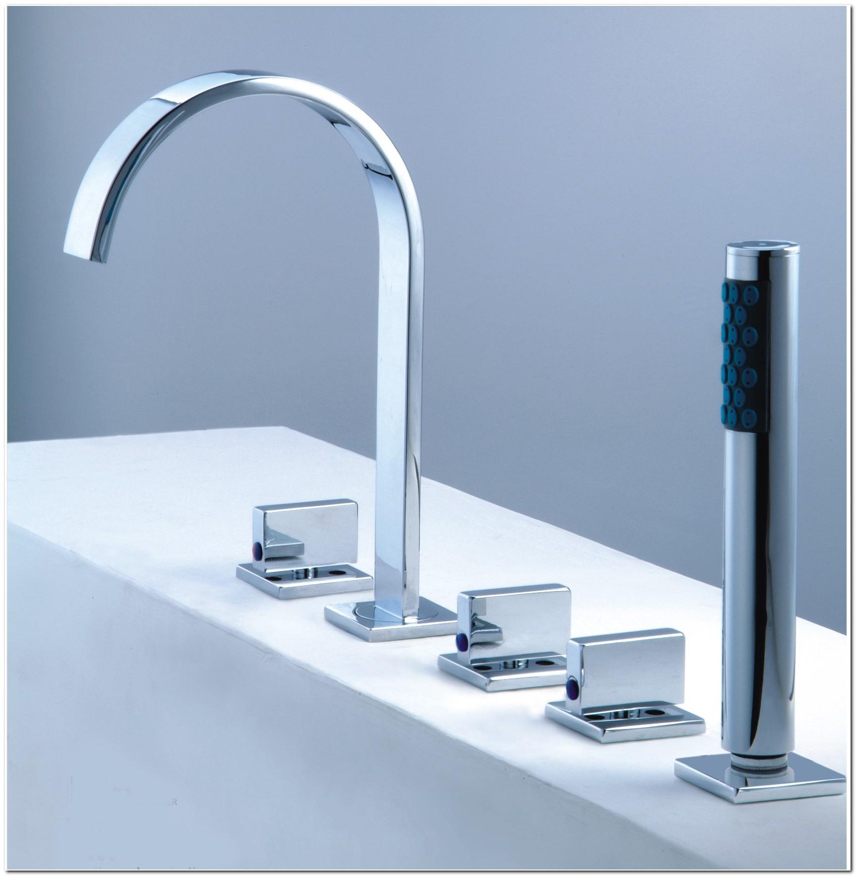 5 Hole Roman Tub Faucet