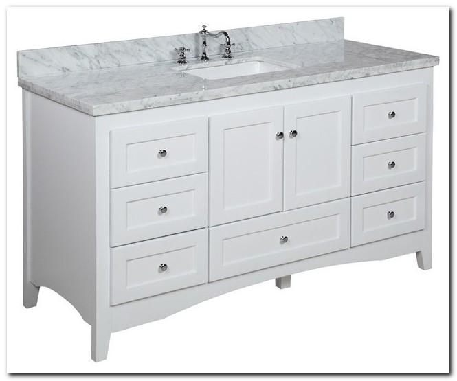 60 Bath Vanity Single Sink