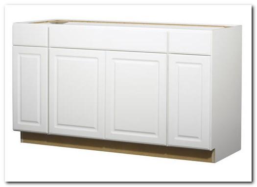 60 Sink Base Cabinet White