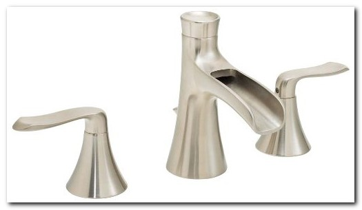 8 Inch Widespread Waterfall Faucet