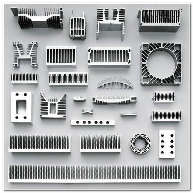 Aluminium Extrusion Heat Sink Profiles