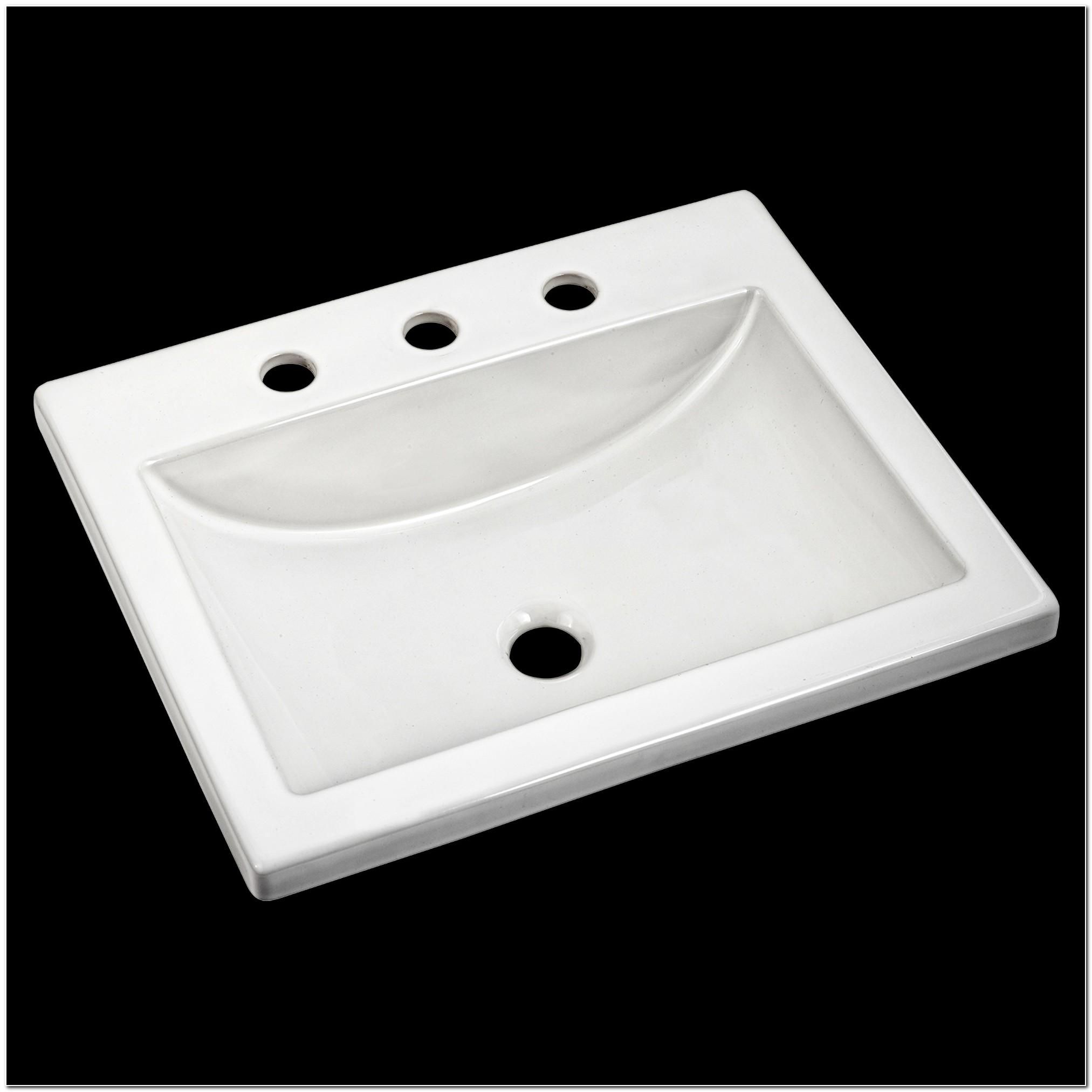 American Standard Bathroom Drop In Sinks
