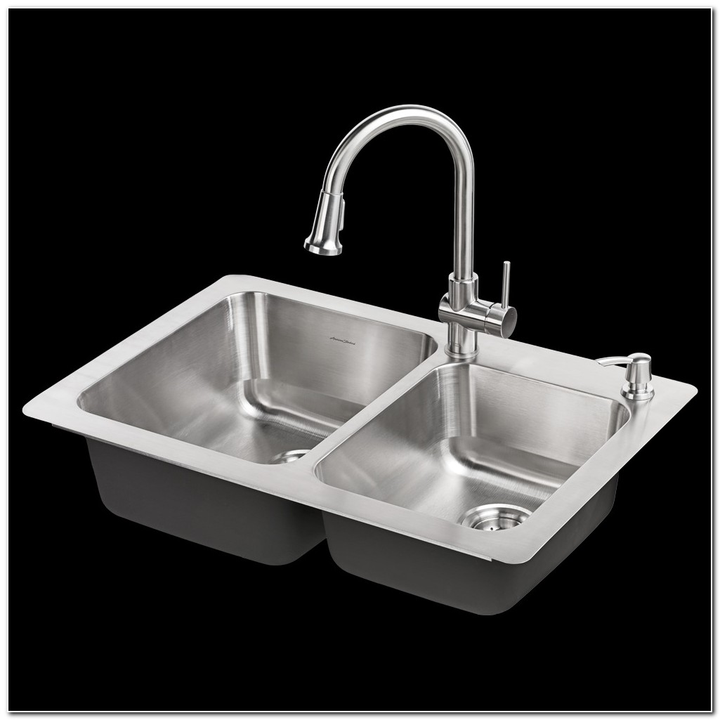 American Standard Kitchen Sink Faucet Combo