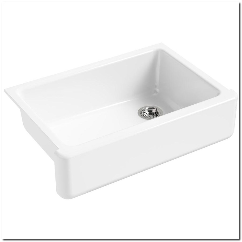 Apron Front Sink White Home Depot