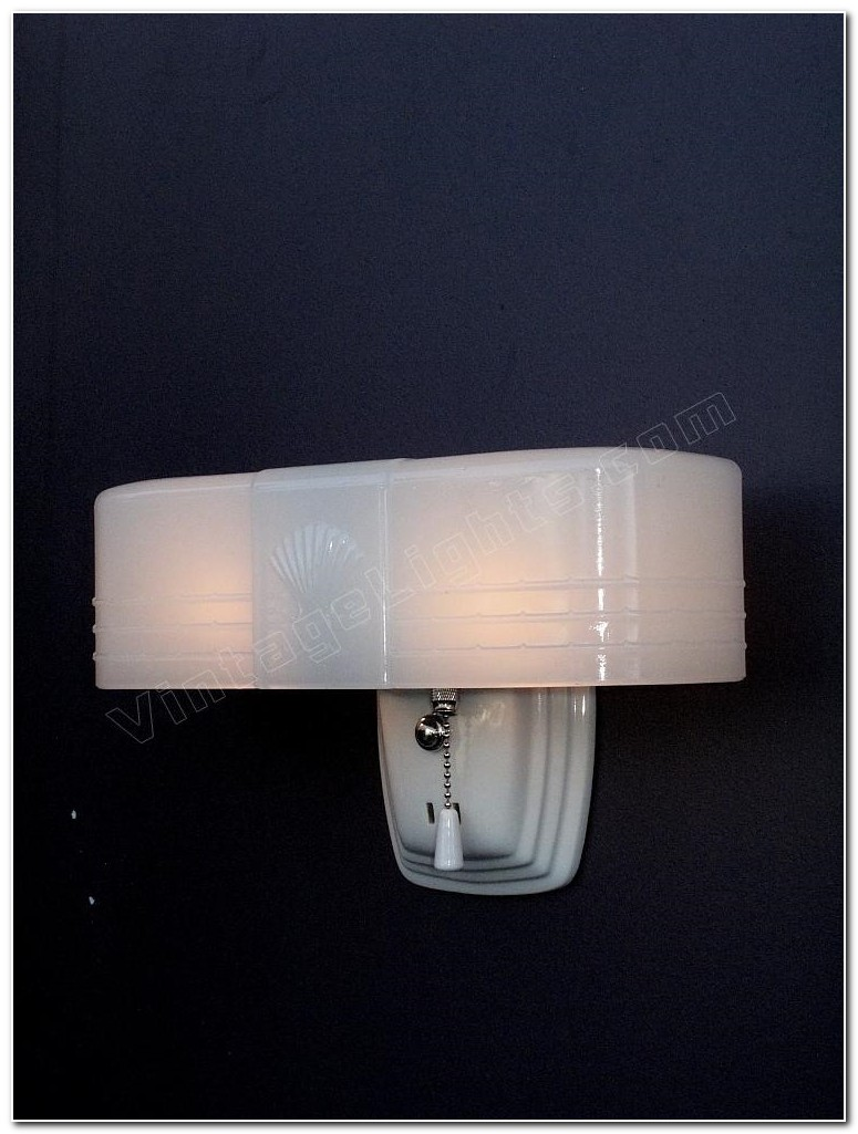 Art Deco Bathroom Light Fixtures