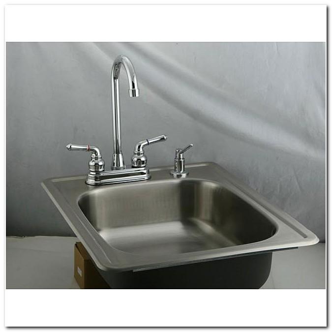 Bar Sink And Faucet Set