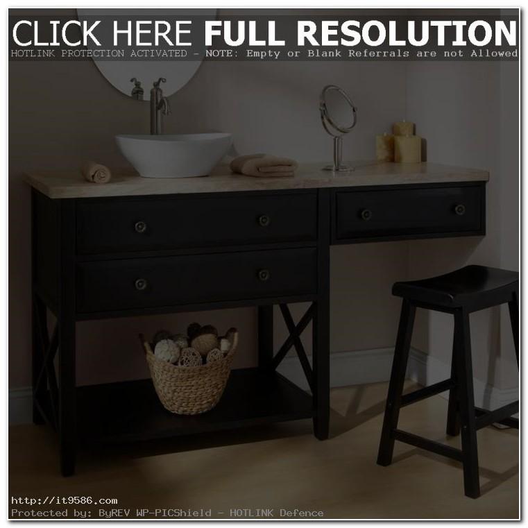 Bath Sink And Vanity Combo
