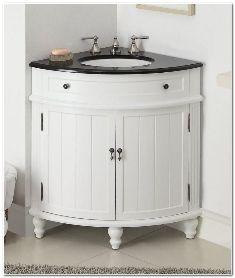 Bathroom Corner Sink Base Cabinet