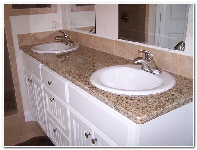 Bathroom Countertops For Drop In Sinks