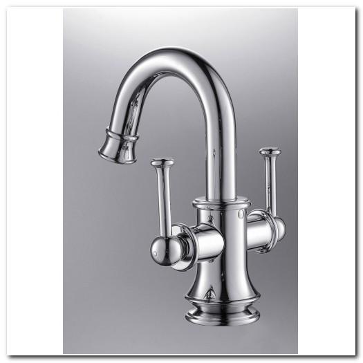 Bathroom Faucet Single Hole Two Handle