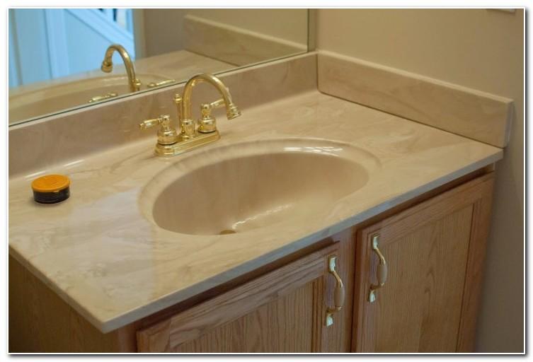 Bathroom Sink And Countertop Combination