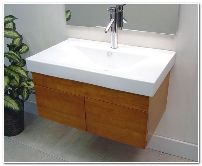 Bathroom Sink Cabinets Wall Hung