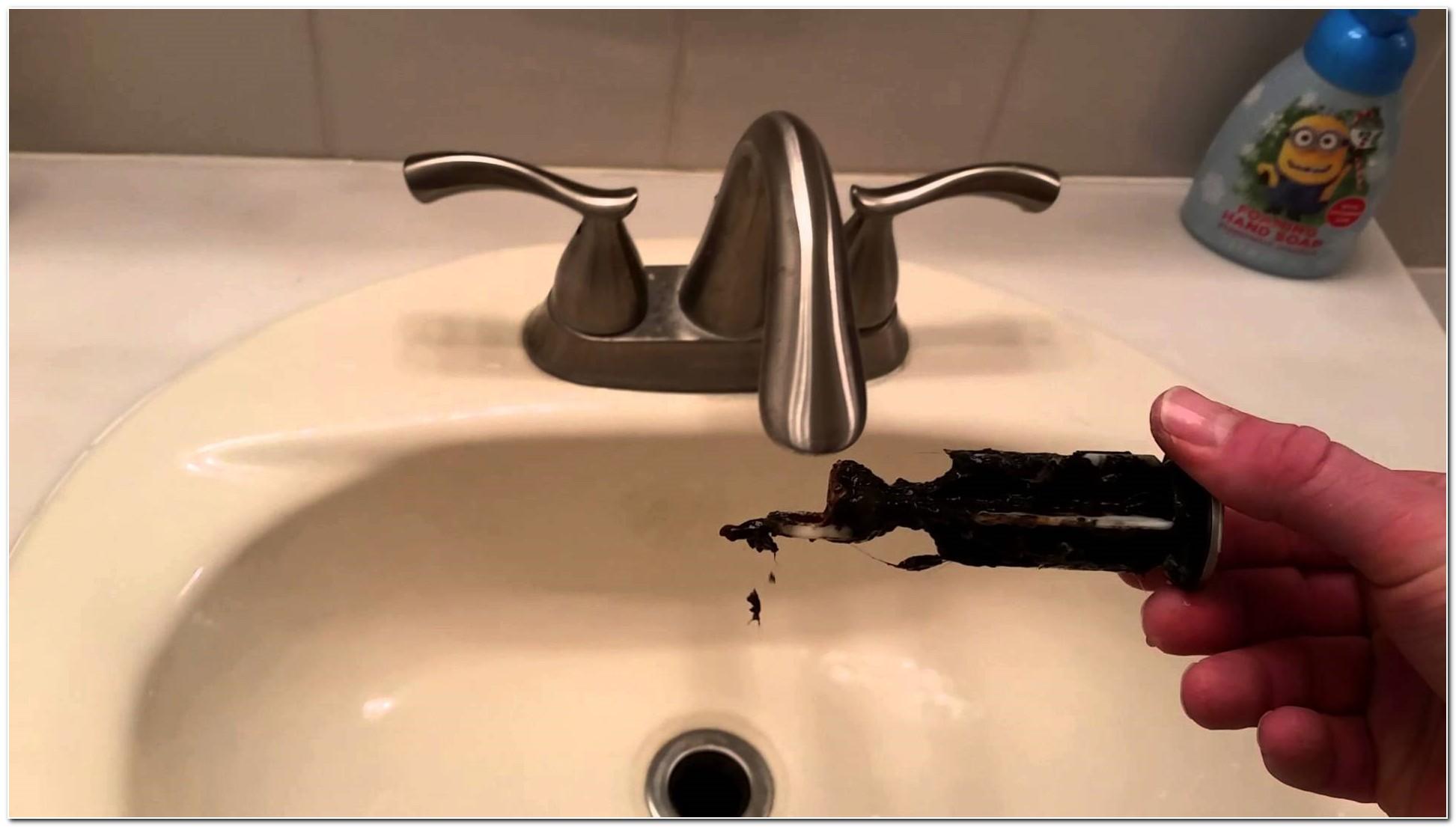 Bathroom Sink Drain Cover Remove