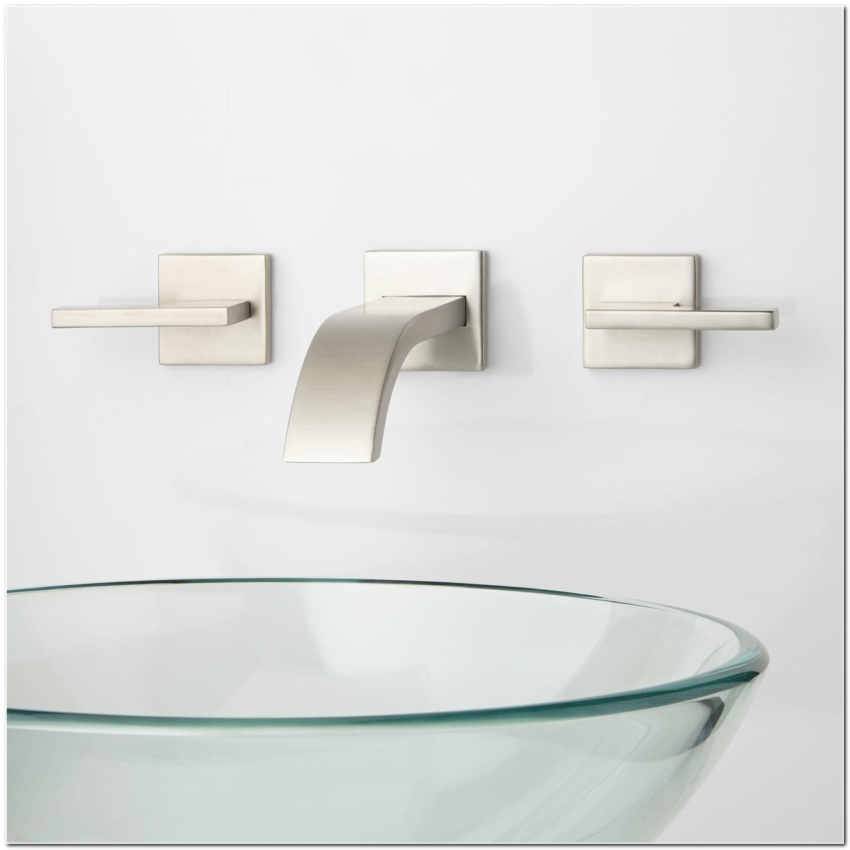 Bathroom Sink Wall Mounted Faucets