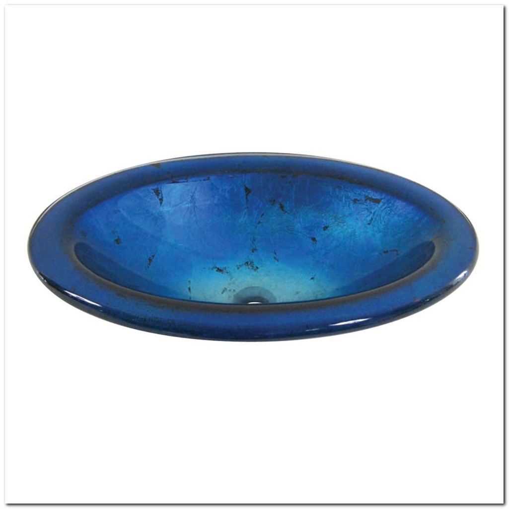 Bionic Cobalt Blue Vessel Sink