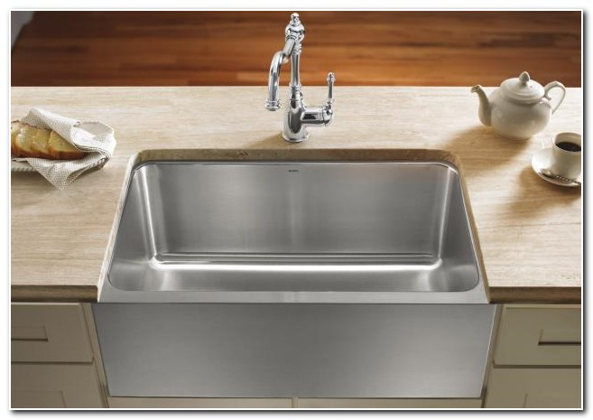 Blanco Apron Front Stainless Steel Kitchen Sink