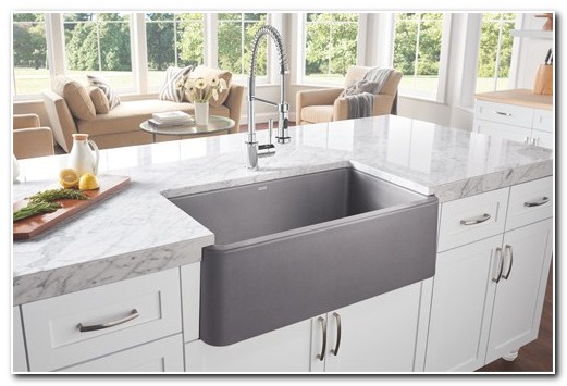 Blanco Silgranit Apron Front Sink