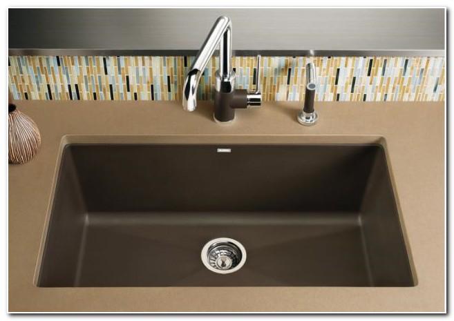 Blanco Silgranit Single Bowl Undermount Sink