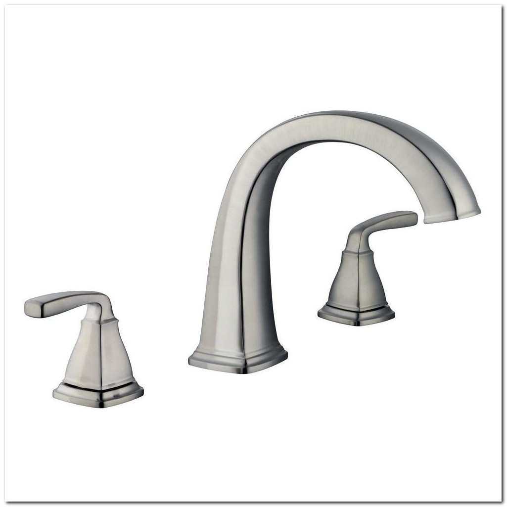 Brushed Nickel Roman Tub Faucet