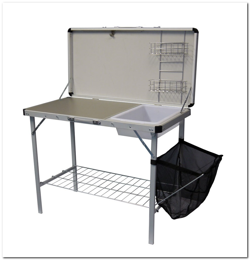Camping Kitchen Unit With Sink