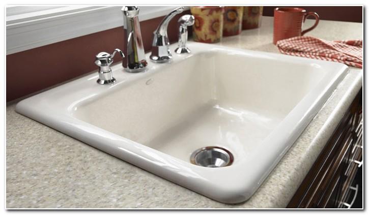Cast Iron Kitchen Sink Installation