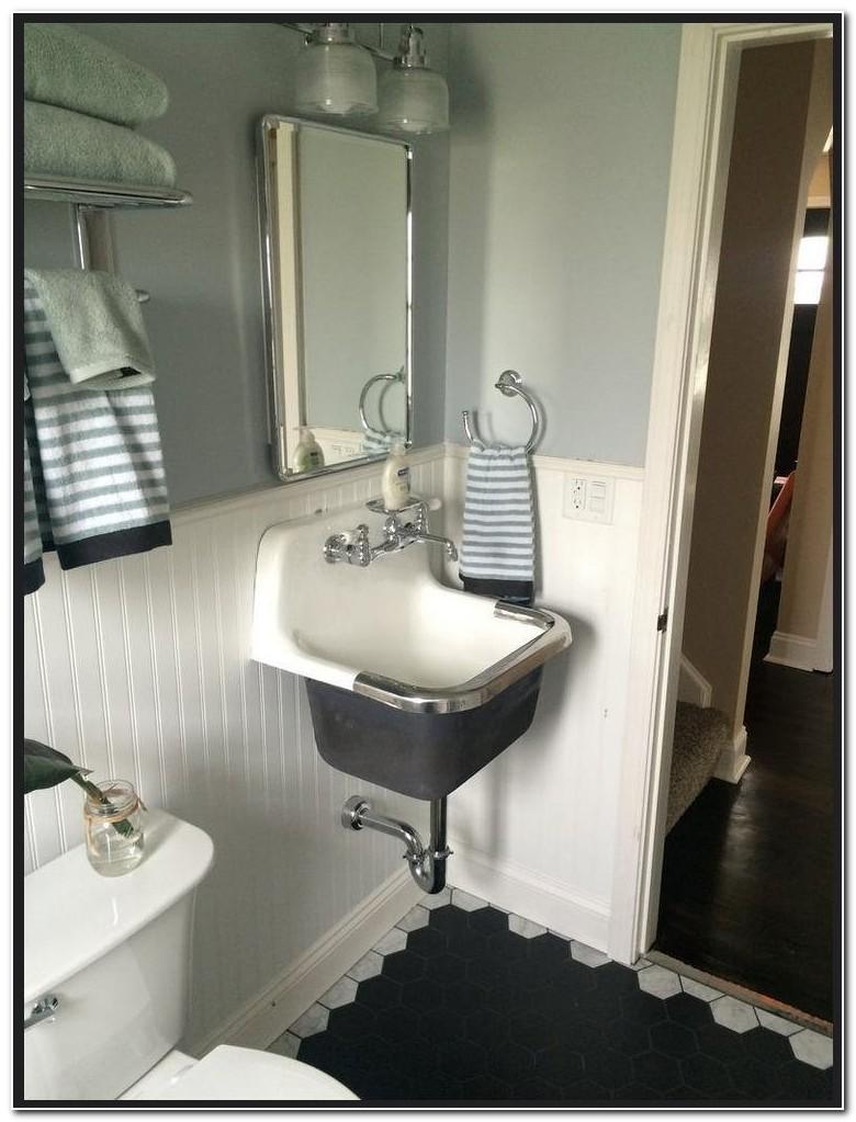 Cast Iron Utility Sink Used