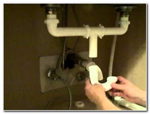 Changing Kitchen Sink Drain Pipe